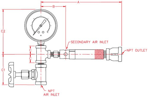 Midget-Air-Ductors-Dimensions-Schematic