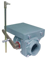 Flanged Butterfly Motorized Package Valves Pyronics<sup>®</sup> Model BV-CMAP