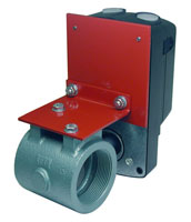 Threaded Butterfly Motorized Package Valves Pyronics<sup>®</sup> Model TBV-CMAP-J