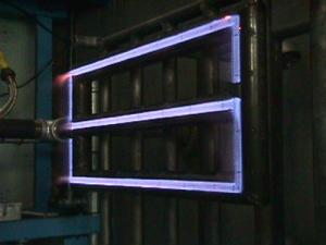 Selas-s-shape-custom-pipe-burner